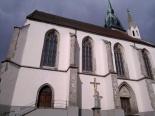 J. Hradec - proboštský kostel nanebevzetí Panny Marie