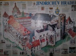J. Hradec - mapa hradu